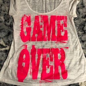 Fiona & Purple Game Over T-shirt